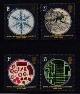 UK, 1989, Mint Never Hinged Stamps , Microscopes, 1218-1221, #1055 - 1952-.... (Elizabeth II)