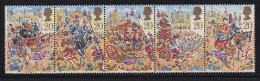 UK, 1989, Mint Never Hinged Stamps , Lord Mayors Show, 1230-1234, #1050 - 1952-.... (Elizabeth II)