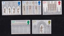 UK, 1989, Mint Never Hinged Stamps , Christmas, 1235-1239, #1056 - 1952-.... (Elizabeth II)