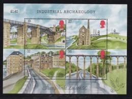 UK, 1989, Mint Never Hinged Stamps On Block , Industrial Archaeology, Block 5, #1061 - 1952-.... (Elizabeth II)