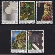 UK, 1995, Mint Never Hinged Stamps , National Trust, 1564-1568, #1067 - 1952-.... (Elizabeth II)