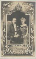 Kaiser Wilhelm II. Und Kaiserin Victoria, Kaiserpaar-Portrait 1906, Postkarte, Königshäuser, Adel, Hohenzollern - Familles Royales
