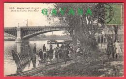 95 ARGENTEUIL - Bord De Seine Et Pont Neuf - Argenteuil