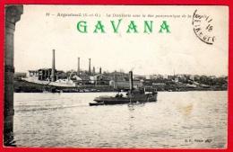 95 ARGENTEUIL - La Distillerie Avec La Vur Panoramique De La Colonie - Argenteuil
