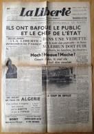 (Politique) Journal La Liberté Du 25 Mai 1937. Jacques Doriot. Nationalisme . Fascisme . - Autres