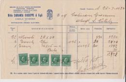 Casale Di Scodosia 1928 - 1900-44 Vittorio Emanuele III