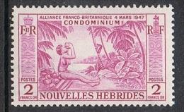 NOUVELLES-HEBRIDES N°184 N* - Leyenda Francesa