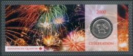 "Canada 25 Cent Mit Motiv: Jahrhundertfeier 2000  ""Celebration"" Orig. Bilster, UNC. - Canada"