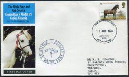 1978 GB Welsh Pony Express FDC - 1952-.... (Elizabeth II)