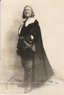 MIGUEL VILLABELLA Autographe Original Dedicacé Et Portrait En Pied De L'artiste De Scène D' Opéra - Autographes