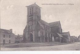 Ax - Cpa SERVON SUR VILAINE - L'Eglise - France