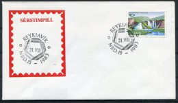 1983 Iceland Cover - 1944-... Republique