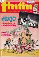 1985-40e Année N°27, BD TINTIN HEBDOMADAIRE ( Hugo Gargolia La Magicienne, Poster Gilles Roux.., Aria Le Tribunal ...) - Tintin