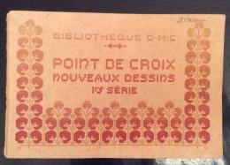 BIBLIOTHEQUE D.M.C.  POINT DE CROIX - Arts, Architecture
