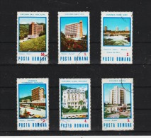 1986  STATIONS THERMALES ET HOTELS D ACCUEIL  MI No 4253/4258 Et Yv 3664/3669 - Usado
