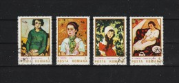 1986 -  PEINTRE NICOLAE TONITZA   Mi No 4231/42334  Et YV= 3651/3654 - 1948-.... Republiken