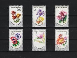 1986  FLORE Mi No  4268/4273 Et Yv  3677/3682 - Usado
