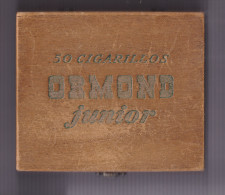 Boite Vide  50 Cigarillos Ormond Junior BE - Tabac (objets Liés)
