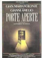 68795) Cartolina Manifesto Del Film Porte Aperte Di Leonardo Sciascia-con Annullo Speciale - Cinema