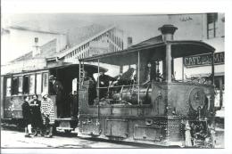 FerFerney Voltaire 01 Locomotive Bi Cabine Winterthur Avec Chauffeur -   Photo Collection Demengie Scan Recto - Eisenbahnen