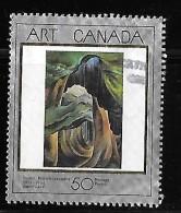 CANADA, 1991, USED # 1310,  Art Canada, Forest, British Columbia, Emily Carr  USED - 1952-.... Règne D'Elizabeth II