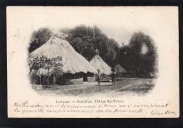 AFRIQUE OCCIDENTALE GUINEE FRANCAISE CONAKRY BOULBINE VILLAGE KE TOURE CARTE  PRECURSEUR - Frans Guinee