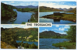 THE TROSSACHS (MULTIVIEW) / POSTMARK - GARVE - Stirlingshire