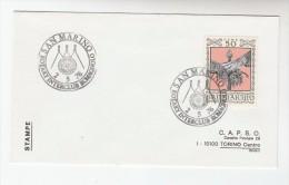 1976 SAN MARINO ROTARY CLUB EVENT Pmk COVER Romagnolo  Rotary International Stamps - San Marino