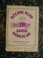 Bosna And Her.-Sarajevo-plan-1957   (3408) - Sonstige