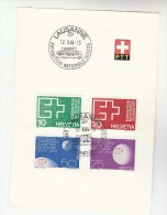 1964 SWISS EXPOSITION POST COVER (leaflet) Switzerland Stamps - Switzerland