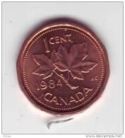 Canada, 1984, 1¢, Élizabeth II - Canada