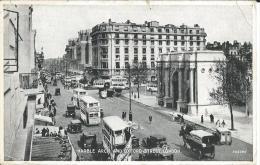 CPA - Royaume Uni - ENGLAND - LONDON  :  Marble Arch AndOxford Street - . - Buckingham Palace