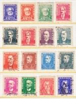BRAZIL  786-801     (o)  1954-60  Issue - Brazil