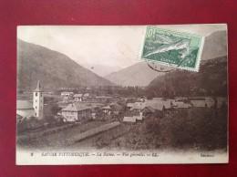 73 Savoie Cpa LA BATHIE  Vue Générale + Cad Sur 8eme Olympiade 1924 - Other Municipalities