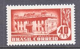 BRAZIL  818    * - Unused Stamps
