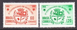 BRAZIL  820-1    *  ARMS - Unused Stamps