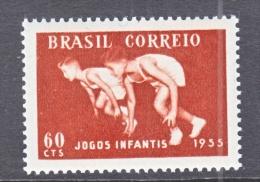 BRAZIL  823    *  SPORTS - Unused Stamps