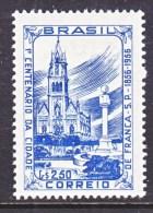 BRAZIL  839     *  RELIGION  CHURCH - Unused Stamps