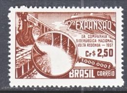 BRAZIL  844     *   STEEL  INDUSTRY - Brazil