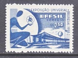 BRAZIL  863     *   BRUXELLES  WORLD  FAIR - Brazil