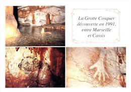 CPM - 13 - La Grotte Cosquer - Multivue - France