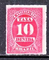 BRAZIL  J 1  (o) - Postage Due