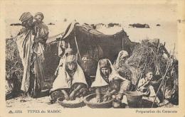Types Du Maroc - Préparation Du Couscous - Collection L.M. - Carte CAP  N°1324 - Afrique