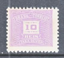 BRAZIL  J 81   *    1942   Issue    Wmk.264 - Postage Due