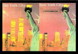 [MD0615] CPM - CARTOLINEA 498 NEW YORK OLD YORK CITY NEW YORK TORRI GEMELLE 11 SETTEMBRE CON ANNULLO 11.9.2004 - NV - Unclassified