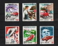 1987 - Securite Rutiere Mi No 4411/4416 Et Yv No 3775/3780 - 1948-.... Republics