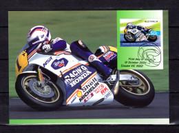 """AUSTRALIE 2004 : Carte Maximum Et PAP Neuf """" VAINQUEURS DE GRAND PRIX MOTOS / WAYNE GARDNER """". Parfait état. CM - Motorräder"""