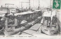"""DUNKERQUE  ( 59 )  -  Contre  Torpilleur   L'  """"  Escopette  """" Et La """"  Rapière  """" - Warships"""