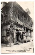Cpa   Aubigny  Vieille  Maison ( XVIè Siècle).   Angle De La Rue Du Bourg Coutant TBE - Aubigny Sur Nere