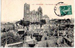 Cpa   Bourges   Vue Générale Prise De Jacques Coeur - Bourges